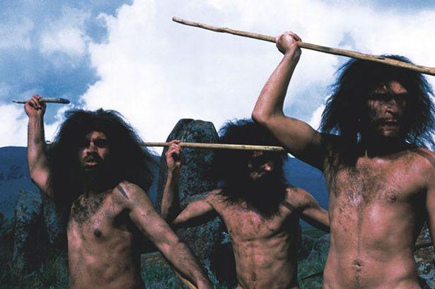 Cavemen - Image BBC