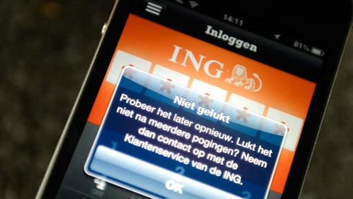 DDoS aanval op ING
